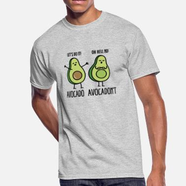 Best Friends Avocado Avocado - Avocadon't - Men's 50/50 T-Shirt
