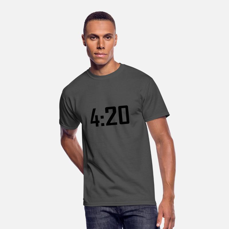 d411a14d 420 funny weed stoner marijuana cannabis Men's 50/50 T-Shirt | Spreadshirt