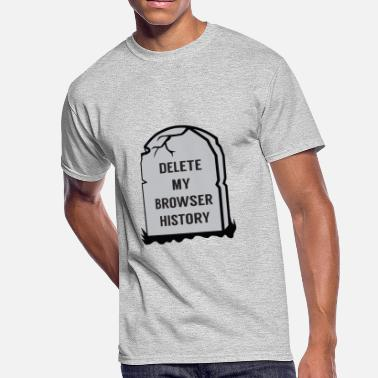 Browser Game Delete My Browser History - Men's 50/50 T-Shirt