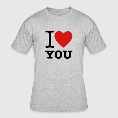 Love You I Love You - Men's 50/50 T-Shirt
