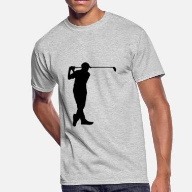 Cappy the golfer - Men's 50/50 T-Shirt
