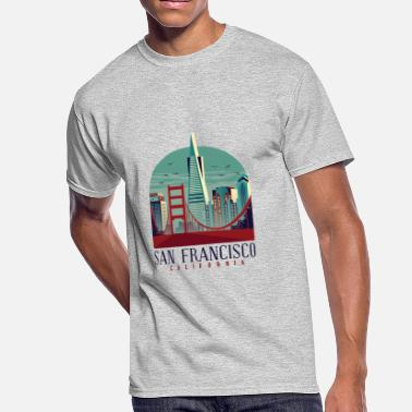 Francisco San Francisco California - Men's 50/50 T-Shirt