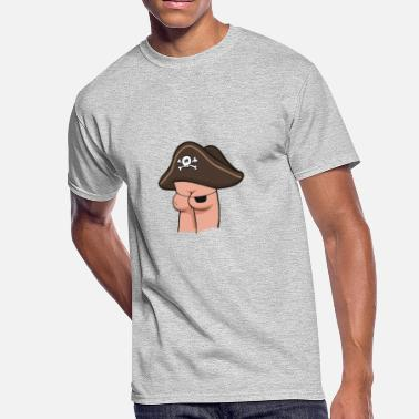 d541668d Funny Pirate Butt Pirate funny tshirt - Men's 50/50 T