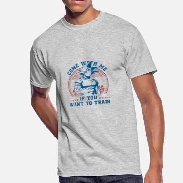 Come At Me COME WITH ME - Men's 50/50 T-Shirt