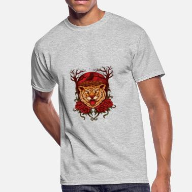 Chinese Tiger Tiger Roar - Men's 50/50 T-Shirt