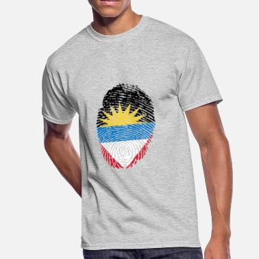 Antigua Flag antigua - Men's 50/50 T-Shirt