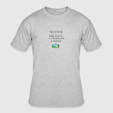 In the mood to get hit by a car - Men's 50/50 T-Shirt