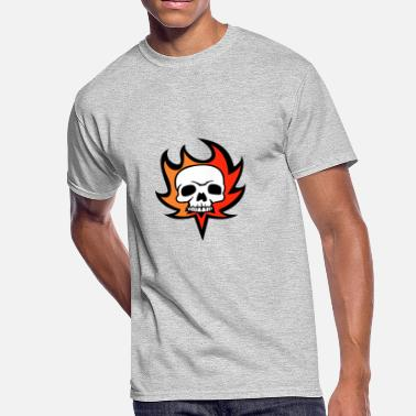 Fire Skull Skull fire - Men's 50/50 T-Shirt