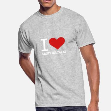 Legalize It Amsterdam I Love Amsterdam - Men's 50/50 T-Shirt