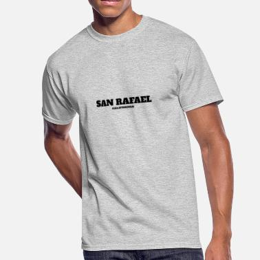San Rafael CALIFORNIA SAN RAFAEL US EDITION - Men's 50/50 T-Shirt