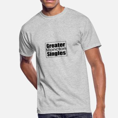 Greater Moncton Singles Black - Men's 50/50 T-Shirt