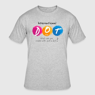 THE DOT | what can you create with just a dot ? - Men's 50/50 T-Shirt
