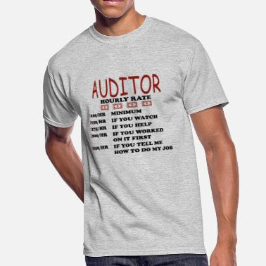 Jobber Auditor Tax Manager Hourly Rate Gift - Men's 50/50 T-Shirt