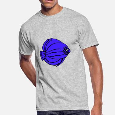 Discus Fish Discus - Men's 50/50 T-Shirt