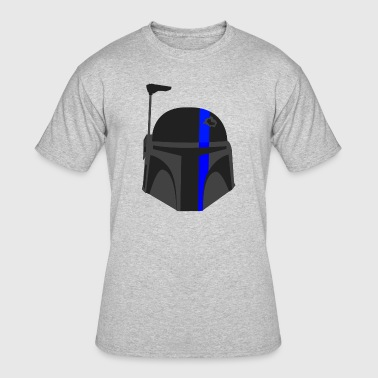 Thin Blue Line - Boba Fett - Men's 50/50 T-Shirt