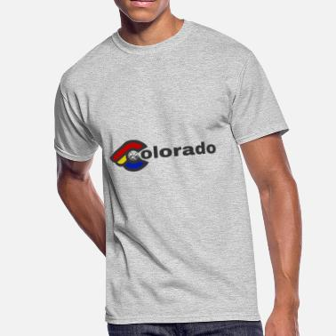 Bicycle Colorado Colorado - Men's 50/50 T-Shirt