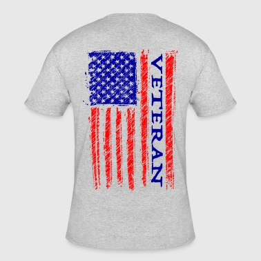 American Veteran Soldier. - Men's 50/50 T-Shirt
