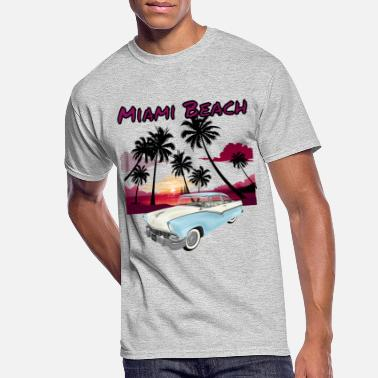 Miami Miami Beach 2019 - Men's 50/50 T-Shirt