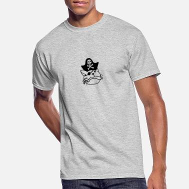 Cor head, pirate, captain, saber, hat, cap, head, cors - Men's 50/50 T-Shirt