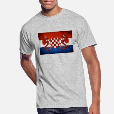 Usta croatian guardian dragons - Men's 50/50 T-Shirt