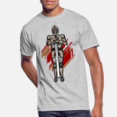 Suit Of Armor Suit of armor Knight - Men's 50/50 T-Shirt