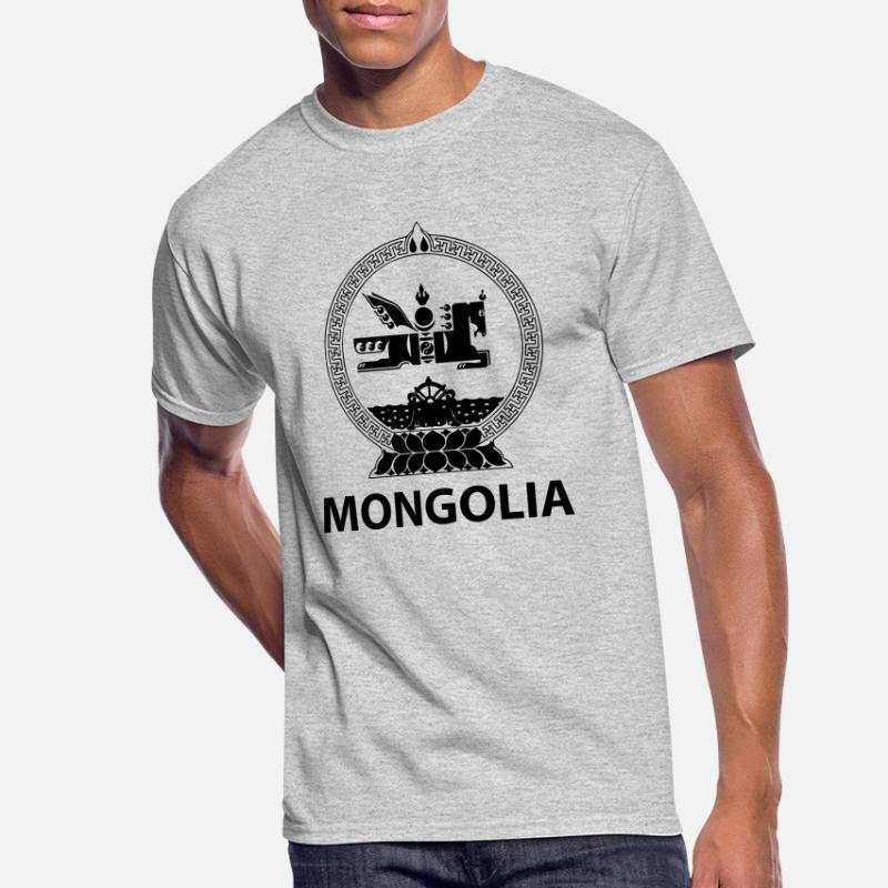 MONGOLIA SCRIBBLE FLAG MENS T-SHIRT TEE TOP GIFT MONGOL ULS MONGOLIAN