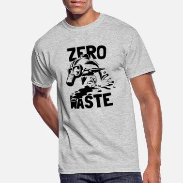 Save The Planet Zero waste - Men's 50/50 T-Shirt