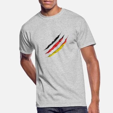 Alemania - Germany - Deutschland - Ripped - Men's 50/50 T-Shirt