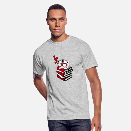 Mad Over Shirts Read Books Not Shirts Studious Geek Unisex Premium Tank Top