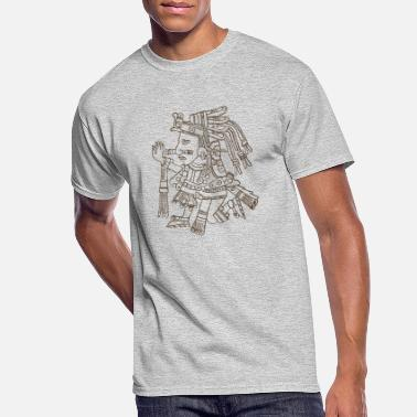 Aztec Design - Men's 50/50 T-Shirt