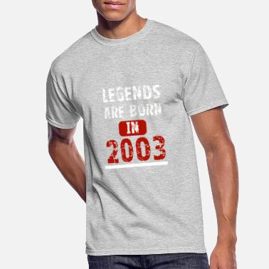 2003 Legends Are Born In 2003 - Men's 50/50 T-Shirt