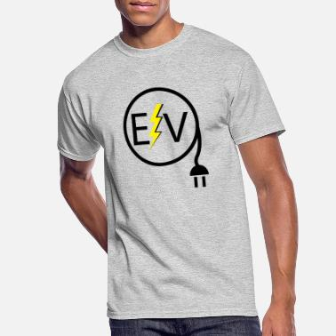 Electric Electric Vehicle Logo 2 - Men's 50/50 T-Shirt