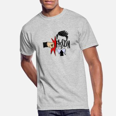 Fascism RIGHT IN THE FASCISM - Men's 50/50 T-Shirt