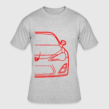 FR-S OUTLINE - Men's 50/50 T-Shirt