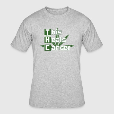THC This Heals Cancer - Men's 50/50 T-Shirt