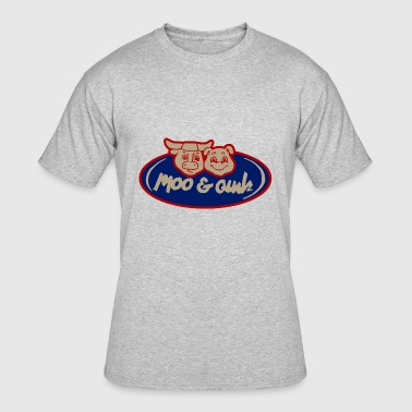 Moo and Oink Chicago - Men's 50/50 T-Shirt