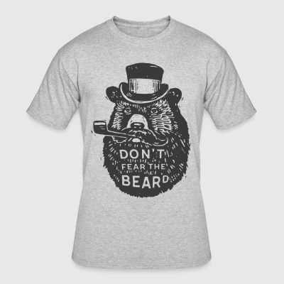 Beard Shirt | Bear Shirt - Men's 50/50 T-Shirt