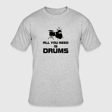 need drums black - Men's 50/50 T-Shirt