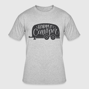 Happy Camping - Men's 50/50 T-Shirt