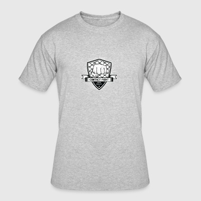 Contact Fight Vintage - Men's 50/50 T-Shirt