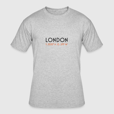 London CoordinateLondon Coordinate - Men's 50/50 T-Shirt