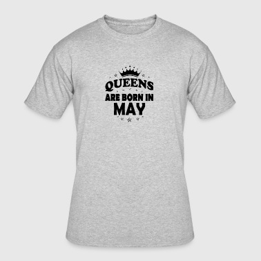 Queen May Birthday - Men's 50/50 T-Shirt