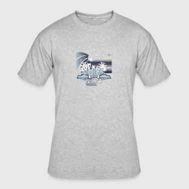 beach_styles - Men's 50/50 T-Shirt