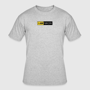 Nikon Camera I Am Nikon - Men's 50/50 T-Shirt