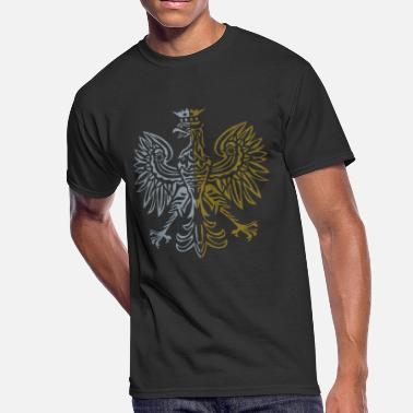 Dual Flags Dual Color Eagle - Men's 50/50 T-Shirt