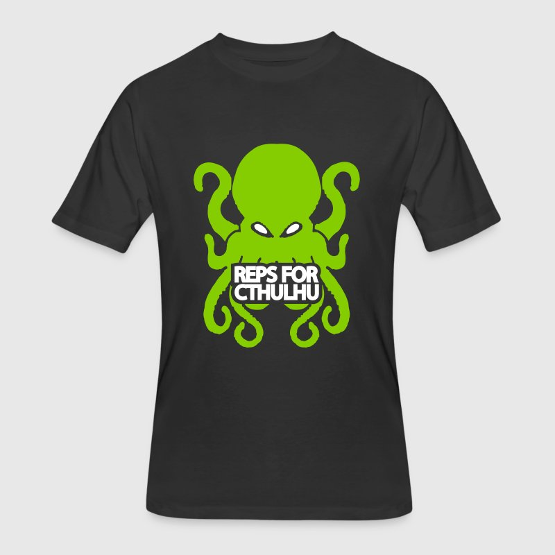 Reps for Cthulhu - Men's 50/50 T-Shirt