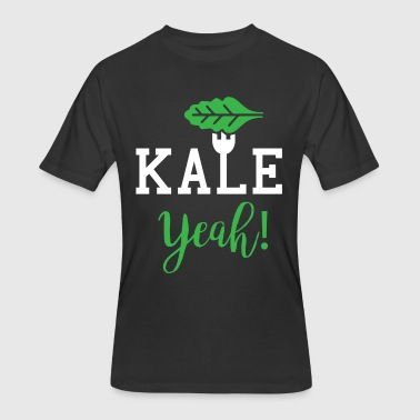 Kale Yeah - Men's 50/50 T-Shirt