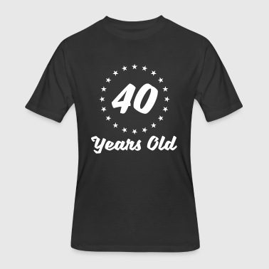 40 Years Old - Men's 50/50 T-Shirt