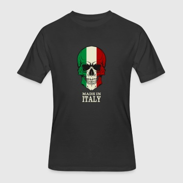 Made In Italy Made in Italy Skull Flag - Men's 50/50 T-Shirt