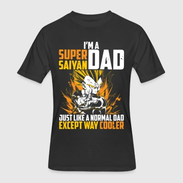 dragon ball super saiyan dad majin vegeta t shirt - Men's 50/50 T-Shirt